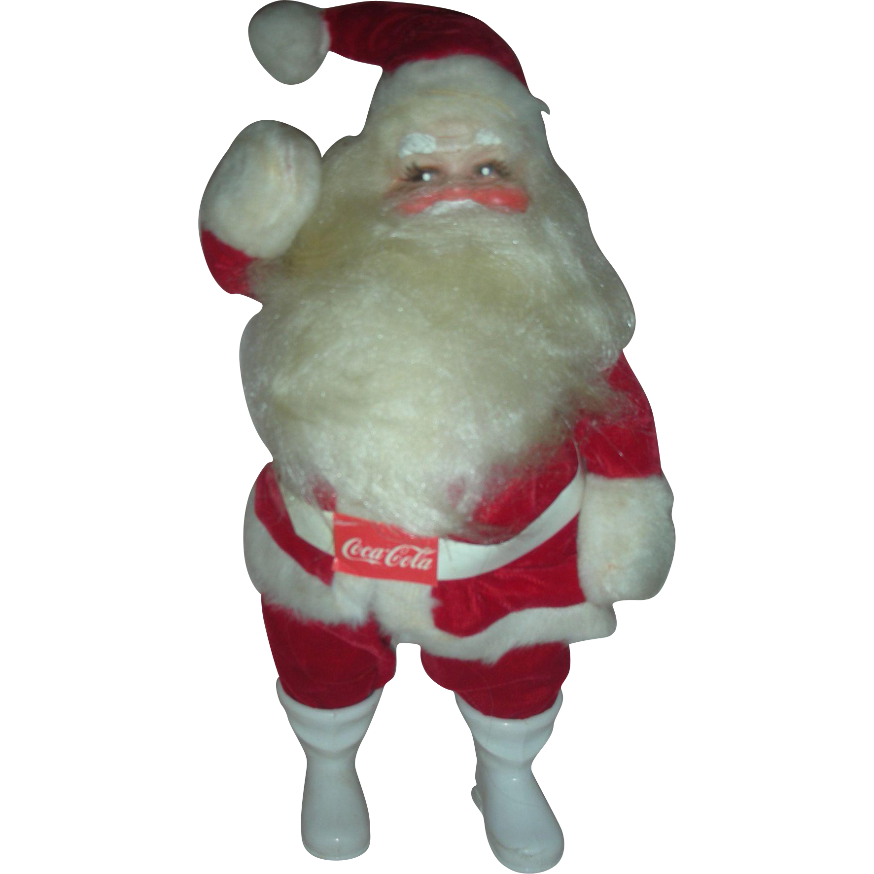 Vintage Harold Gayle Santa Claus Coca Cola Christmas Store Display Doll