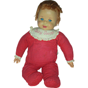 Vintage Mattel Talking Baby Secrets Doll