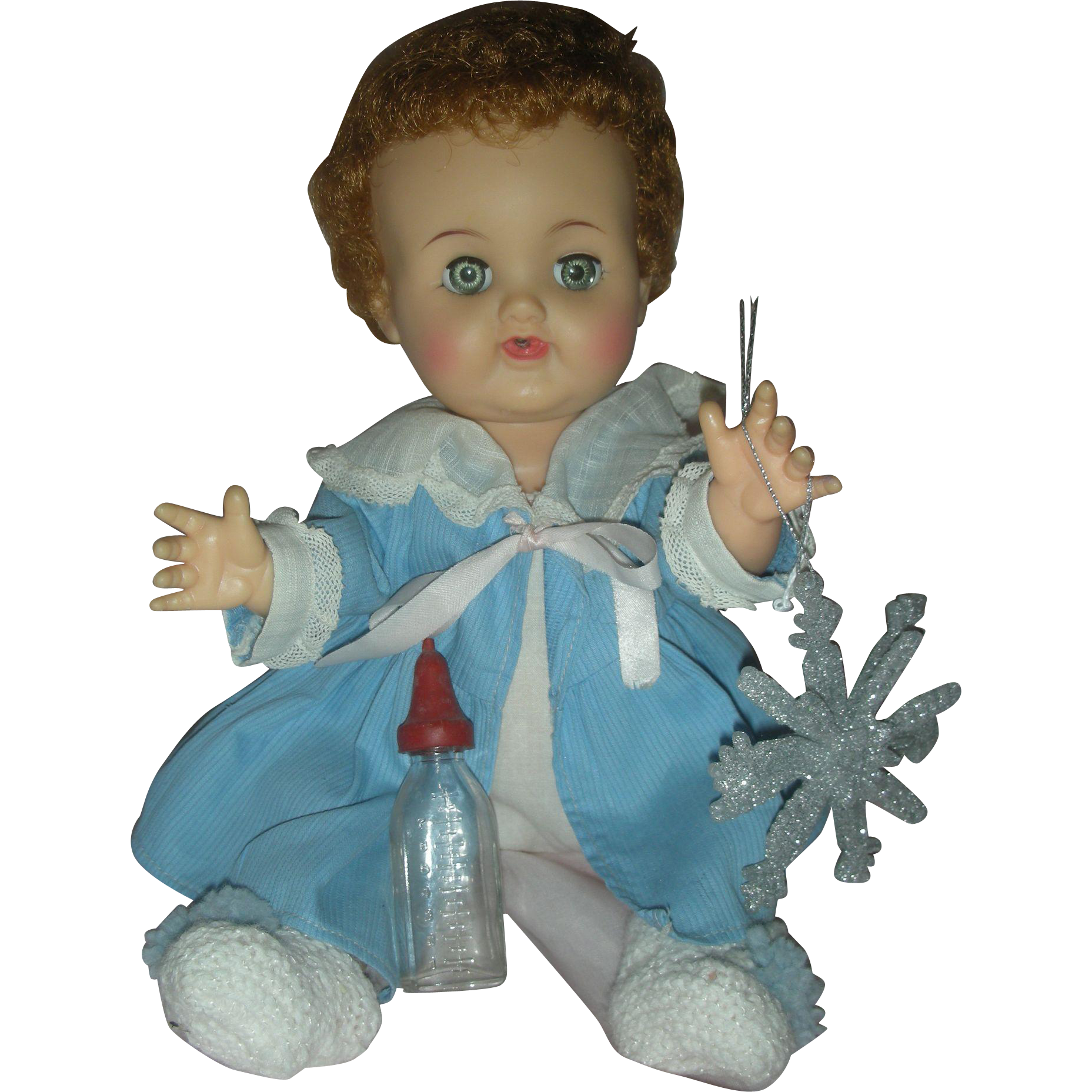 Vintage Ideal Betsy Wetsy Doll Drink and Wet Vinyl Doll 12 inch