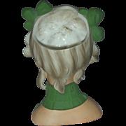 Rare Relpo Vintage Teenage Lady Head Vase Headvase
