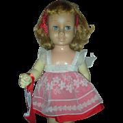 Vintage Mattel Chatty Cathy Doll 1960s Blonde