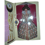 Great Eras Collection Barbie as Elizabethan Queen Doll NRFB