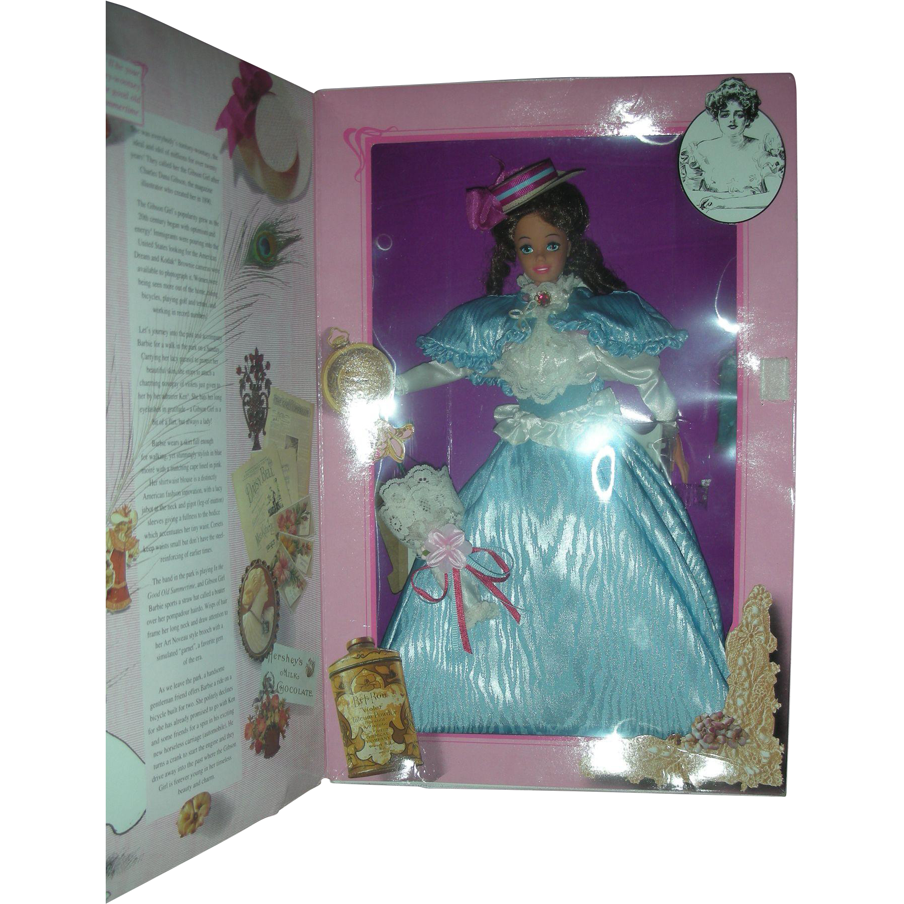 Great Eras Collection Gibson Girl Barbie Doll NRFB