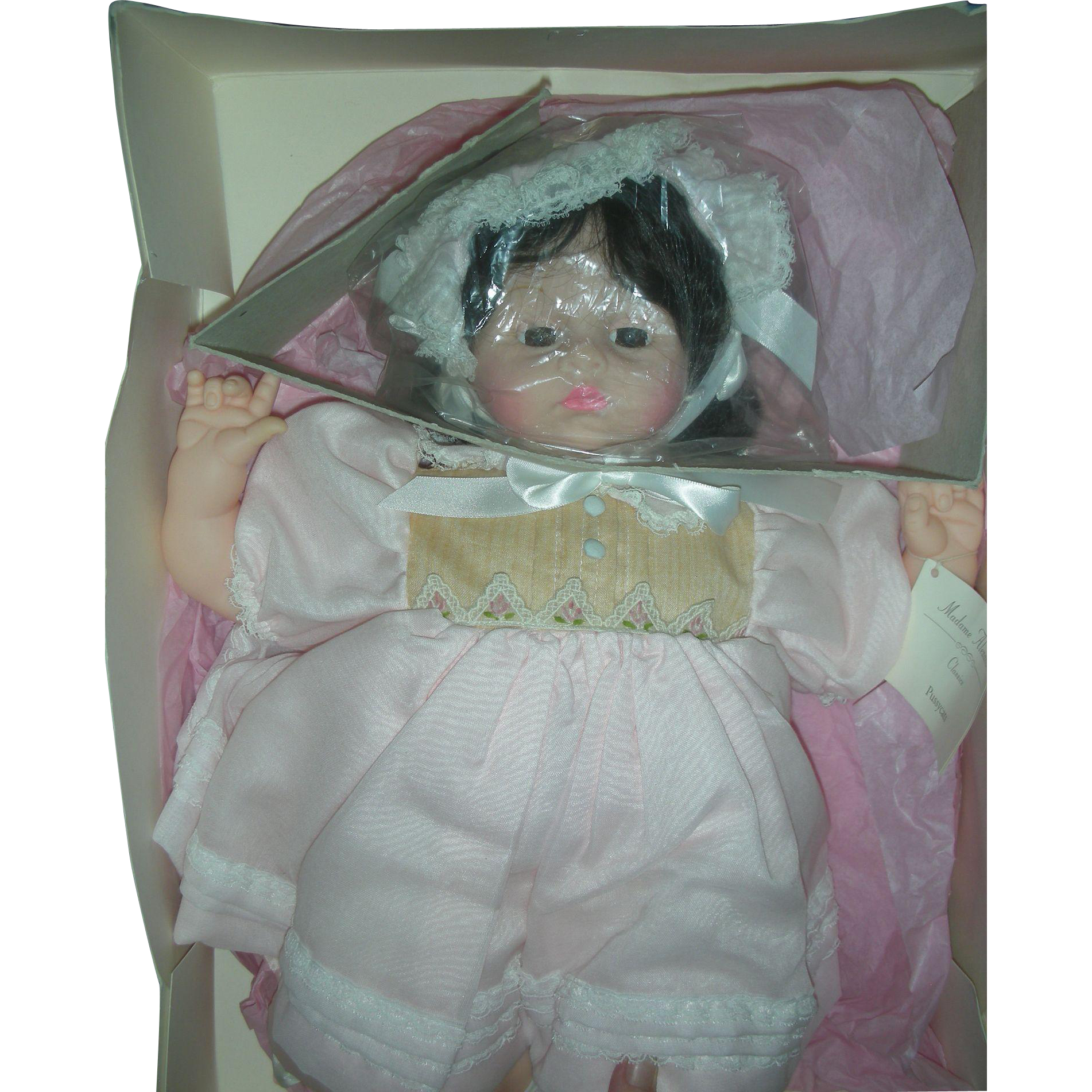Vintage Madame Alexander Pussycat Baby Doll Mint in Box