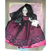 Madame Alexander Goya Portrait Doll Mint in Box 21 inches