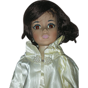 Vintage Madame Alexander Jackie Kennedy Portrait Doll 1961 Wearing Cape Coat #2210