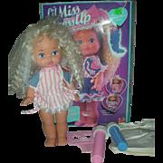 Vintage Mattel Lil Miss Makeup Doll Little Dolls with Box