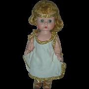 Vintage Early R&B Arranbee Littlest Angel 8 Inch Walker Doll Hard Plastic High Color