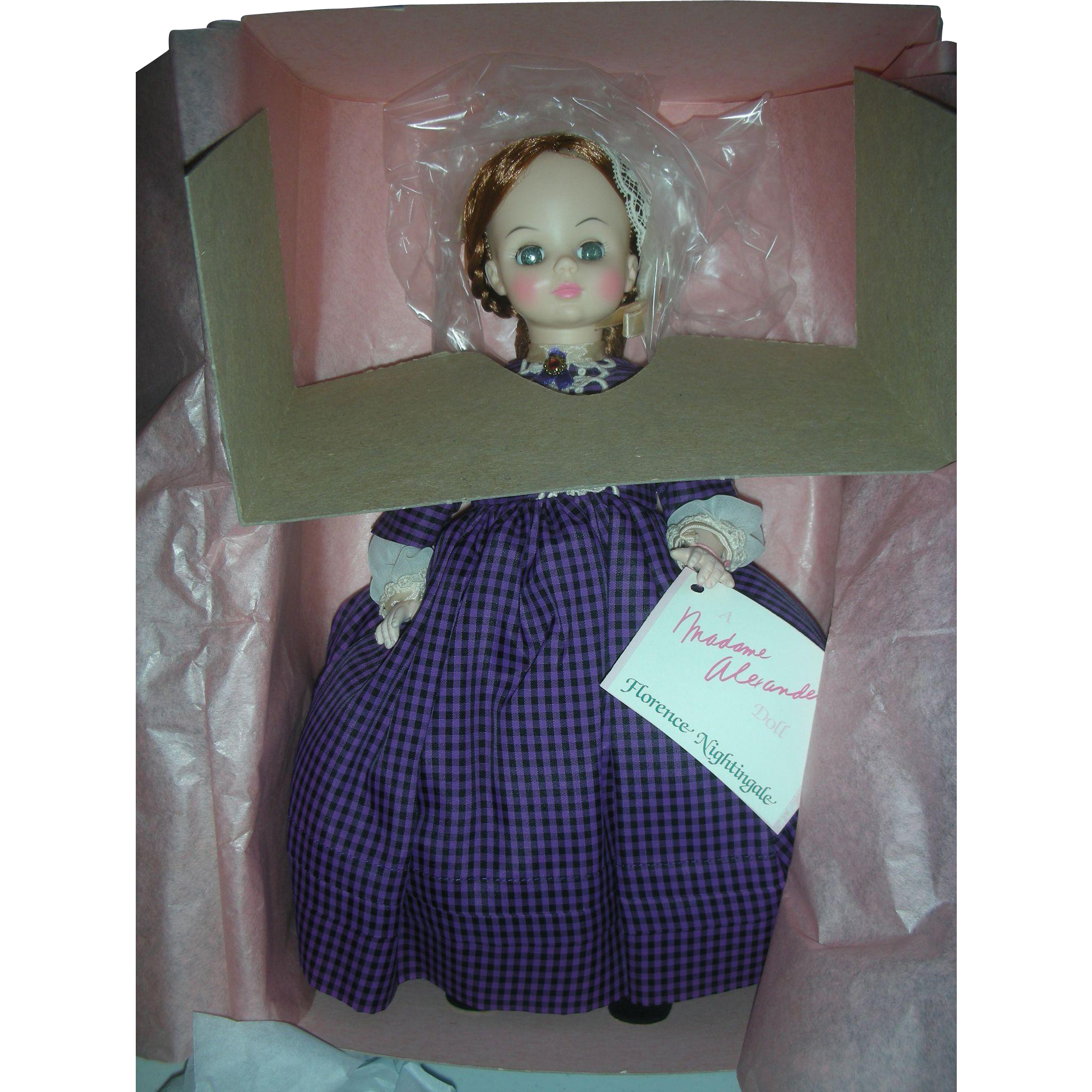 Vintage Madame Alexander Florence Nightingale RN Nurse Doll Mint in Box
