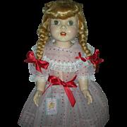 Vintage Rita Paris Doll Company Hard Plastic Walker from 1950s 28 inch Doll