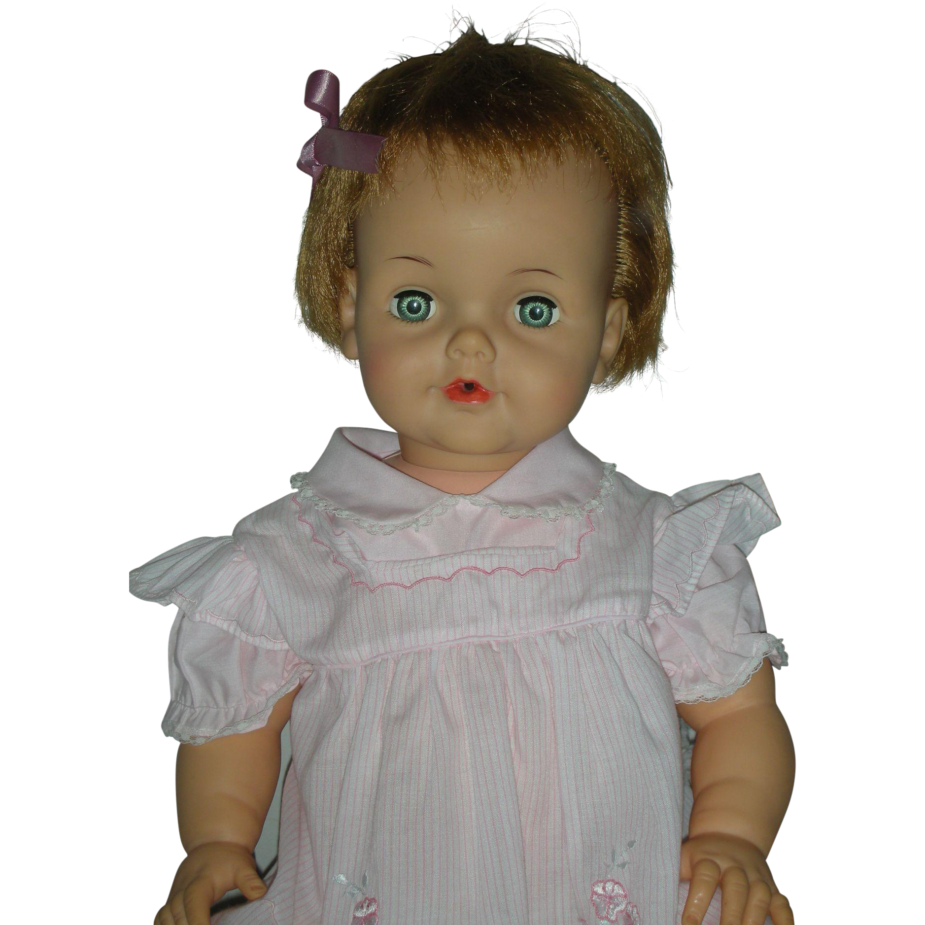 Vintage Ideal Betsy Wetsy Doll Rare Large Playpal Size 24 inches