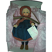 Vintage Madame Alexander Laura Ingalls Doll #1531 in Box from Little House on the Prairie
