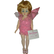 Vintage Madame Alexander Doll Walt Disney Peter Pan Tinker bell Cissette From Late 1960s all original with wrist