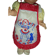 "Vintage Vinyl Doll Bib ""For My Doll"" to Fit Betsy Wetsy or Tiny Tears drink and Wet Dolls"