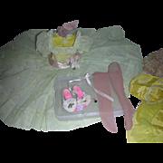 Vintage Madame Alexander Cissy Doll 1950s Dress Complete Set