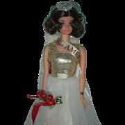 Vintage 1972 Miss America Barbie Doll Mod Era Mint and complete