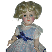 Vintage Ideal P-90 Toni Doll Platinum Blonde