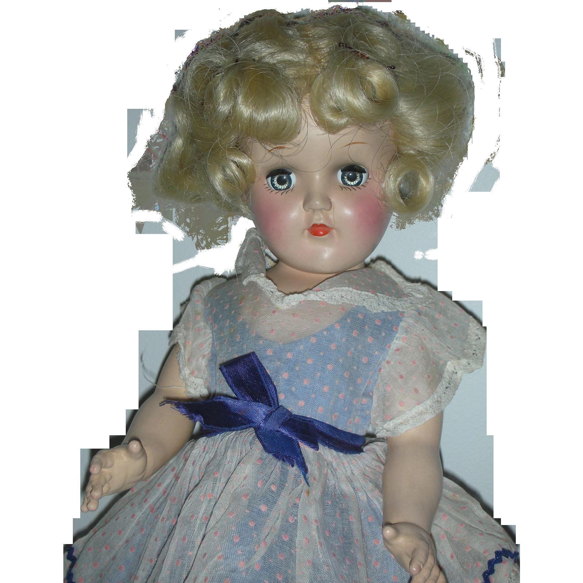 Vintage Ideal P-90 Toni Doll Platinum Blonde