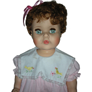 Vintage American Character Toodles Toddler Play Pal Size Baby Doll