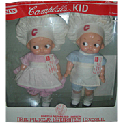 Horsman Campbell's Soup Kid Vinyl Dolls Limited Edition NRFB