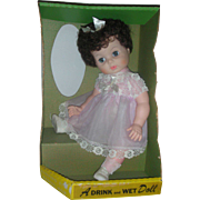 Allied Bonnie Baby Drink and Wet Doll Mint in Box