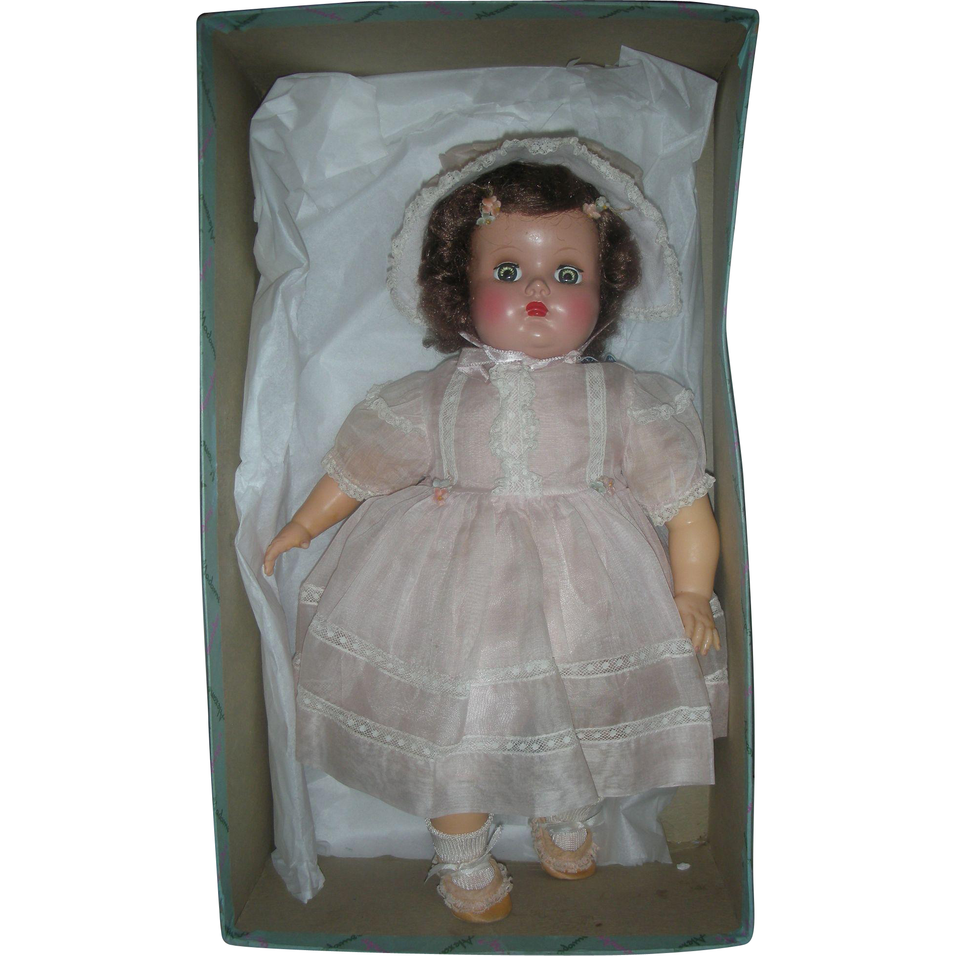 Vintage Madame Alexander Baby Genius Doll Mint in Box