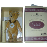 Vintage Steiff Blonde Baby Club Bear 1995 Mint in Box