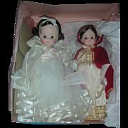 2 Vintage Madame Alexander Snow White Dolls