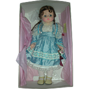 Madame Alexander Blue Dupionne Kelly Doll Mint in Box 20 Inch