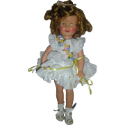 Vintage 1950s St-12 Ideal Vinyl Shirley Temple Doll