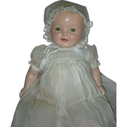 HTF Small Version 15 inch all Vintage Original Effanbee Baby Lovums Doll