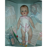 Ideal Porcelain Betsy Wetsy Doll in Box with layette