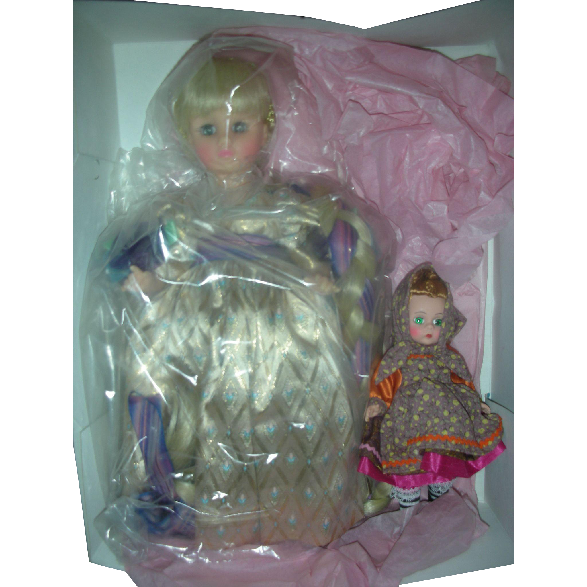 Madame Alexaner Rapunzel and Mother Gothel Dolls Mint in Box #1539