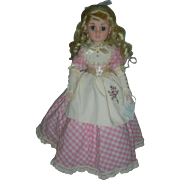 Madame Alexander Doll Amy from Little Women Jorurnals Series 17 inch doll