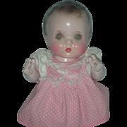 Vintage Composition Molded Hair Horsman Jo Jo Toddler Doll