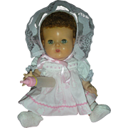 Vintage American Character Tiny Tears Doll with Rock a Bye Eyes:12 inch