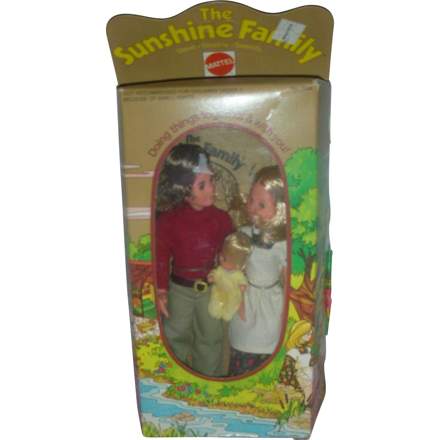 Mattel The Sunshine Family Dolls NRFB