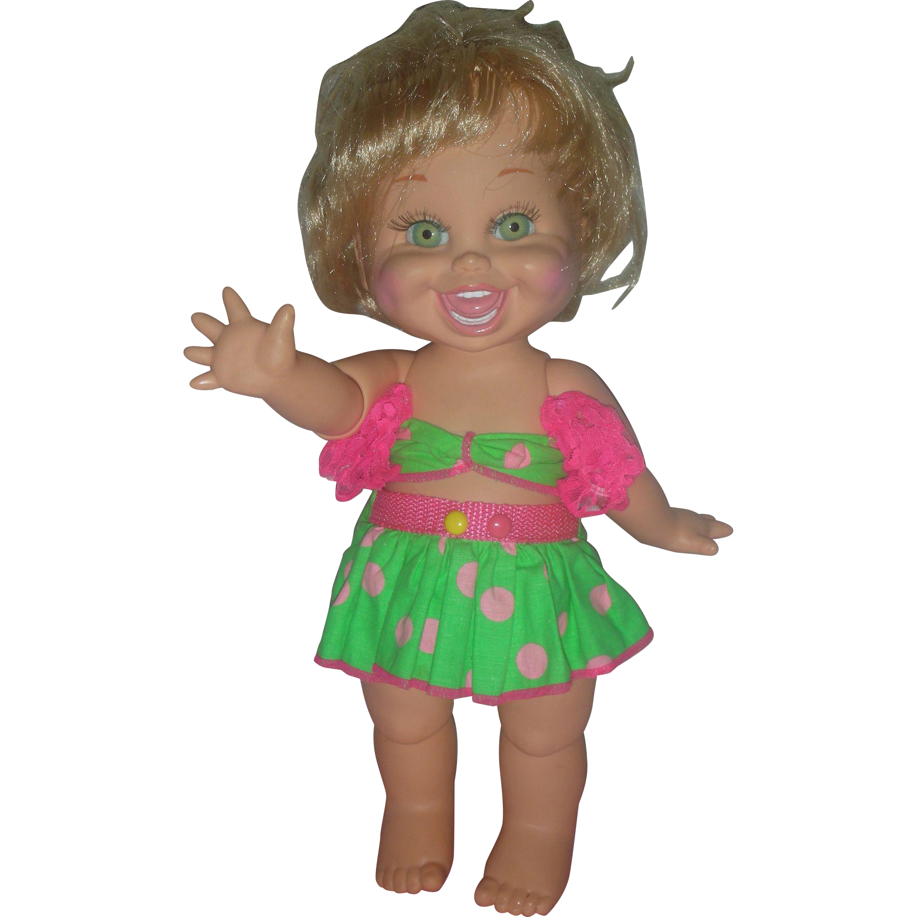 Vintage Galoob Baby Face Doll Natalie