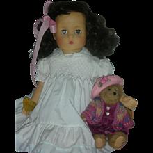 Effanbee Patsy Mae Doll 28 inch Vinyl Doll Playpal Size