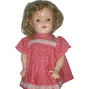 Vintage Effanbee Composition Mary Ann Doll Compo Patsy Family Dolls MaryAnn 20 inch