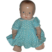 Vintage All Composition 16 inch Chubby Baby Doll