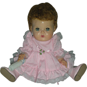 Vintage Small American Tiny Tears Doll with Rock A Bye Eyes