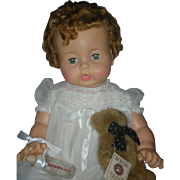Beautiful High Color Ideal Dryper Baby Doll Playpal Family 1960's