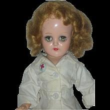 Vintage Ideal P-90 Miss Curity RN Toni Nurse Doll