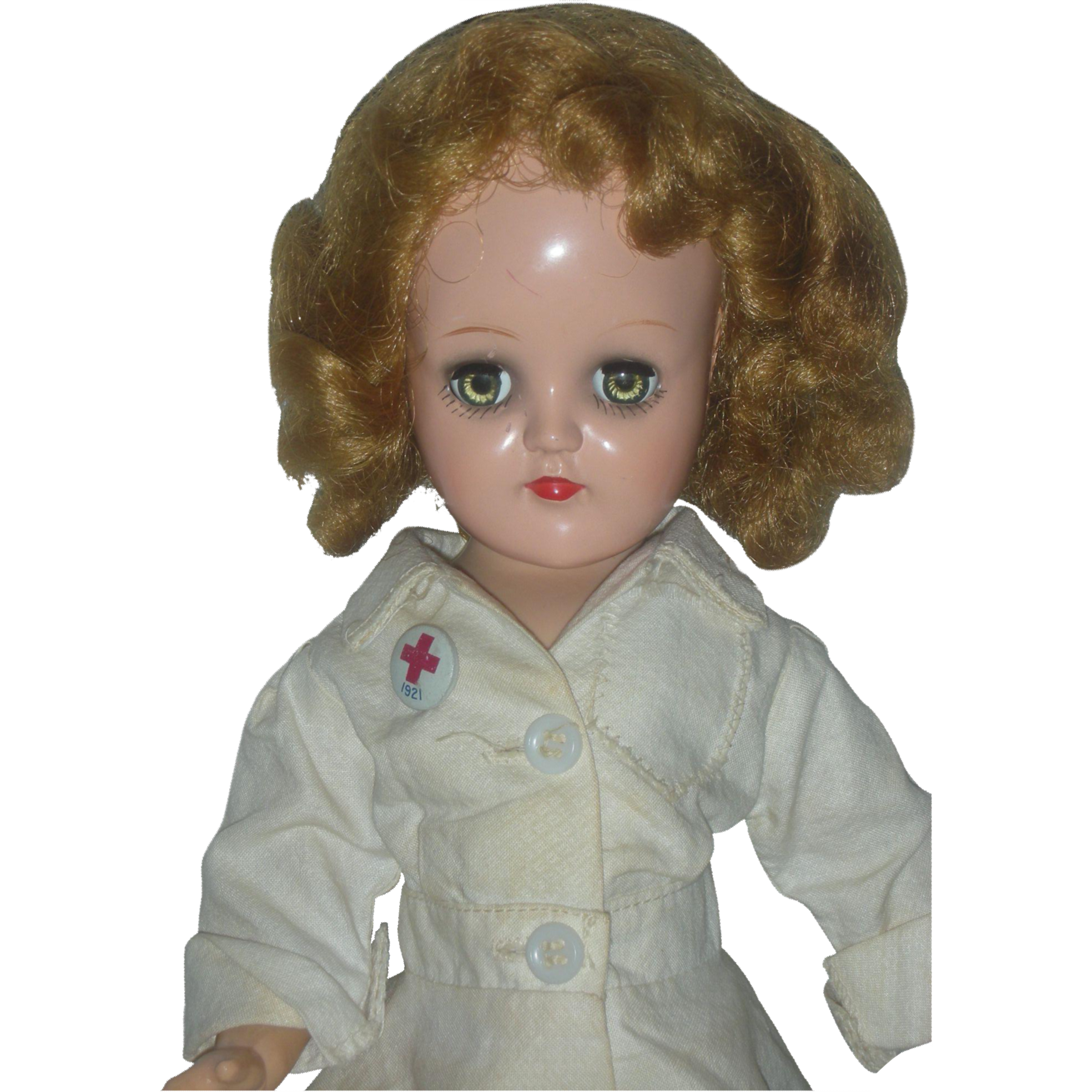 Vintage Ideal P-90 Miss Curity RN Toni Nurse Doll