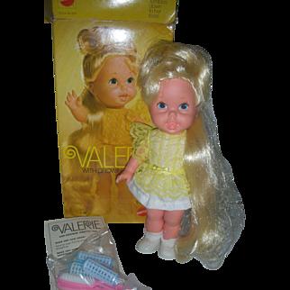 Vintage Mattel Growing Hair Valerie Doll in Box Excellent