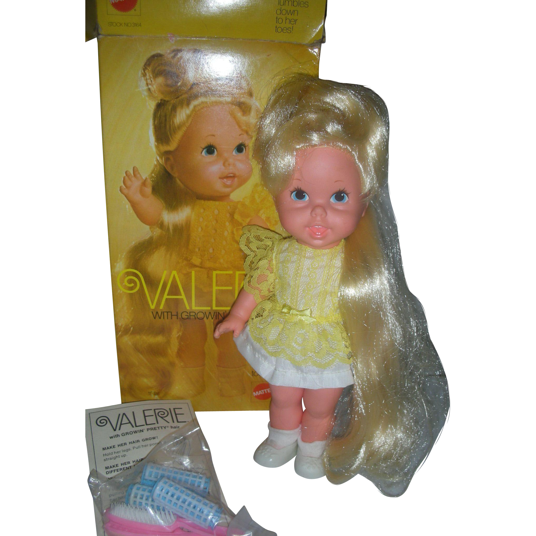 Vintage Mattel Growing Hair Valerie Doll in Box Excellent
