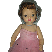 Vintage 1950's Terri Lee Doll in Formal Dress
