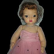 Vintage 1950's Terri Lee Doll in Formal Dress