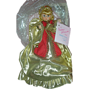 Madame Alexander Merry Angel Christmas Tree Topper Doll Mint in Original Box Spiegel Exclusive